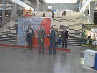 Вручение диплома на выставке