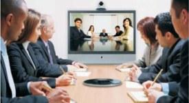 Один из наиболее естественных вариантов  видеоконференции